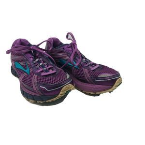 BROOKS ADRENALINE ASR 12 Womens Purple/Blue Shoes